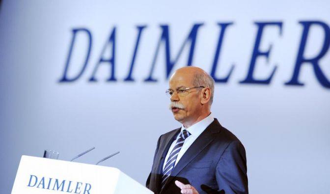 Zetsche sieht Daimler auf dem Weg zur «Bestform» (Foto)