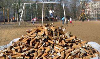 Zigarettenkippen (Foto)