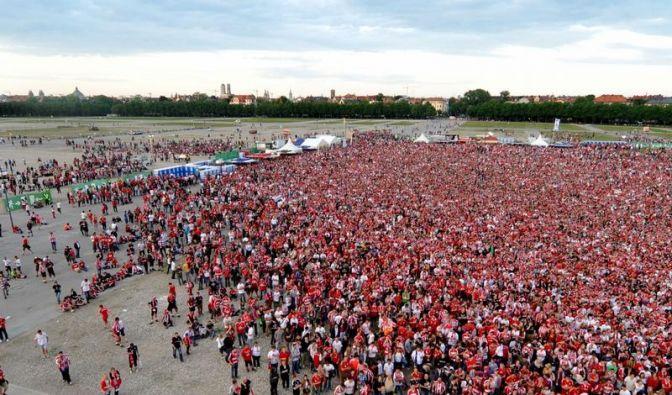 Zigtausende Fans leiden mit den Bayern (Foto)