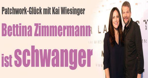 bettina zimmermann schwanger sie erwartet ihr erstes gemeinsames kind mit kai wiesinger. Black Bedroom Furniture Sets. Home Design Ideas