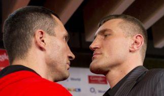Zu Gegner Mariusz Wach muss Wladimir Klitschko erstmals aufschauen. (Foto)