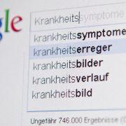 Zu Krankheiten fragen Sie Ihre Medizin-App oder Dr. Google.