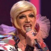 Zu schräg gesungen: Drag-Queen Gloria Viagra.
