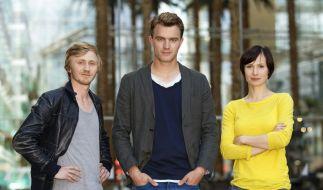 Zukünftig werden Alina Levshin, Friedrich Mücke und Benjamin Kramme in der Landeshauptstadt Thüringens ermitteln. (Foto)