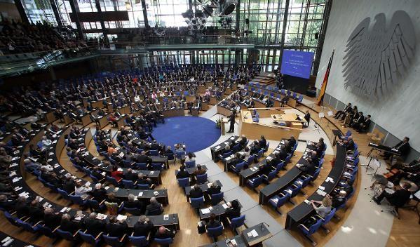 Zum 60. Geburtstag tagt der Bundestag in Bonn.  (Foto)