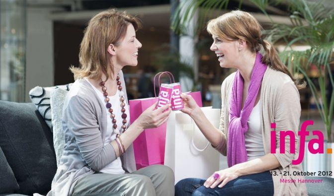 Zum 59. Mal garantiert die infa ein unvergleichliches Shopping-Erlebnis, garniert mit einem einzigartigen Event-Programm. (Foto)