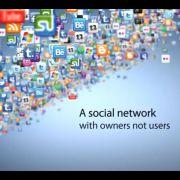 Zurker gehört allen Nutzern. Damit wirbt das soziale Netzwerk.
