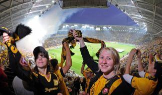 Zuschauerrekord in Dresden (Foto)