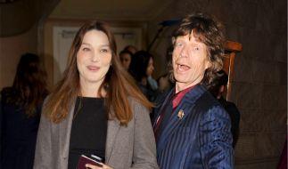 Zwei Diven unter sich: Carla Bruni und Mick Jagger hatten eine Affäre. (Foto)