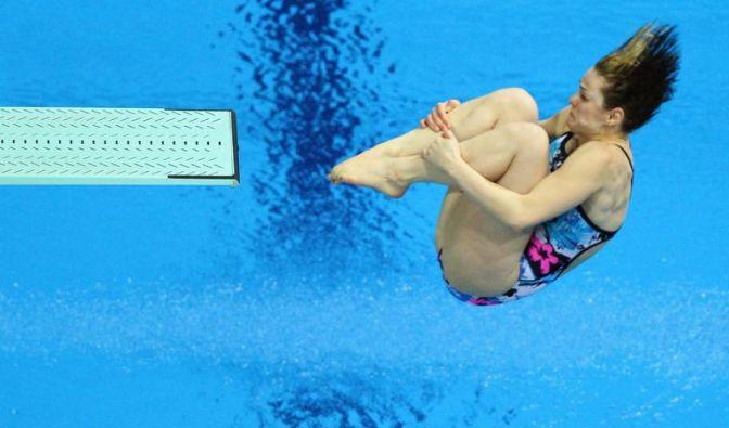 Zwei dritte Plätze für deutsche Wasserspringerinnen (Foto)