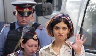Zwei Jahre Lagerhaft für Pussy Riot (Foto)