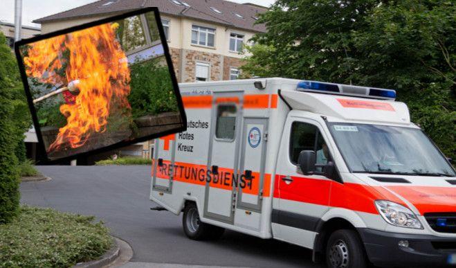 Zwei Kinder wurden bei einem Grill-Unfall in Essen schwer verletzt (Symbolbild). (Foto)