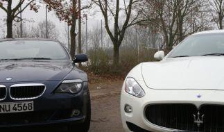 Zwei Luxus-Renner, wie sie unterschiedlicher nicht sein könnten: BMW und Maserati im Vergleich. (Foto)