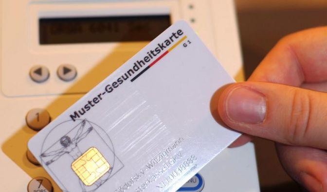 Zwei Millionen fehlerhafte Gesundheitskarten verschickt (Foto)
