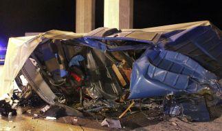 Zwei Tote bei Geisterfahrer-Unfall (Foto)