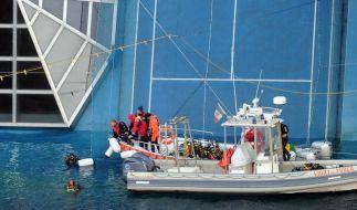 Zwei weitere Leichen auf Costa Concordia  (Foto)