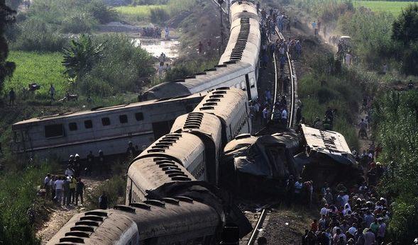 49 Tote! Lokführer stellt sich nach Zugunglück in Ägypten (Foto)