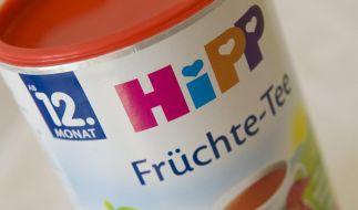 Zweifelhafte Ehre: Die zuckrigen Kindertees der Firma Hipp sind von der Verbraucherorganisation Foodwatch mit dem Negativpreis Goldener Windbeutel ausgezeichnet worden. (Foto)