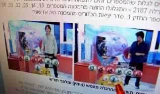 Zweimal gleiche Lottozahlen in Israel gezogen (Foto)