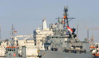 Zweite deutsche Fregatte für Anti-Pirateneinsatz (Foto)