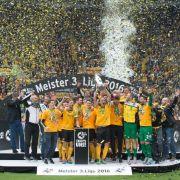 Zweitligaaufsteiger Dynamo Dresden lädt zum Dresden Cup. (Foto)