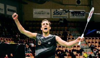 Zwiebler gewinnt EM-Titel im Badminton (Foto)