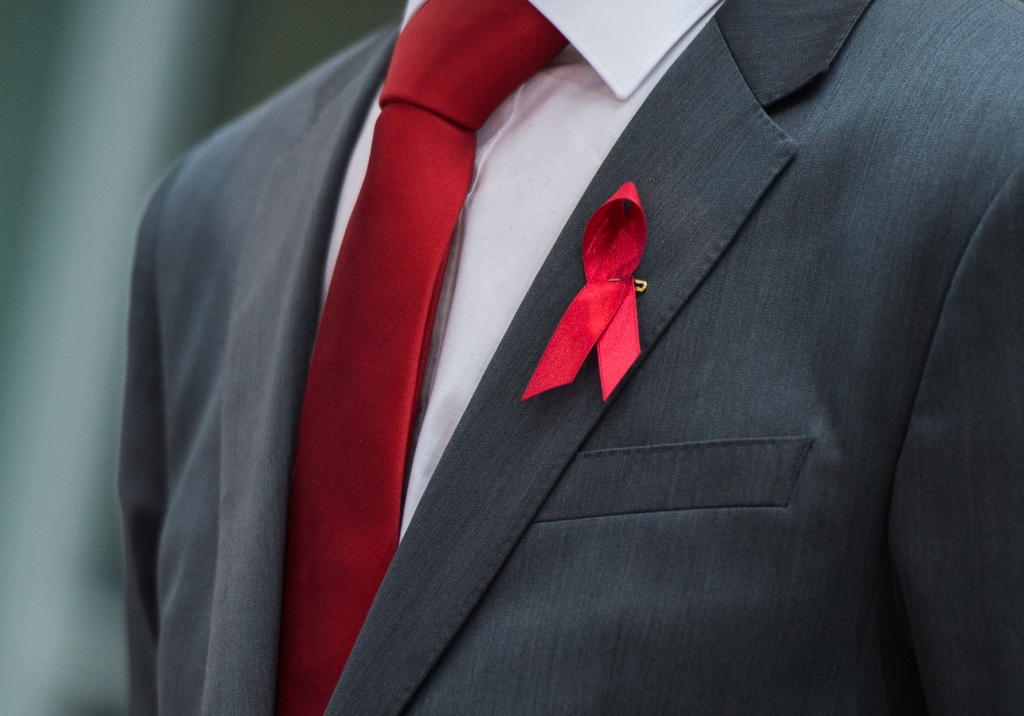 rote aids schleife bedeutung
