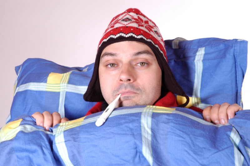 ich bin jeder morgen erkältet