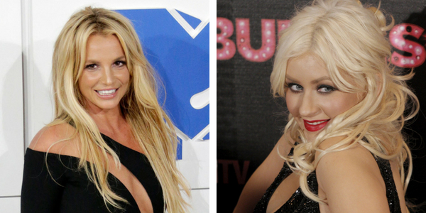 Think, christina aguilera oben ohne duly answer
