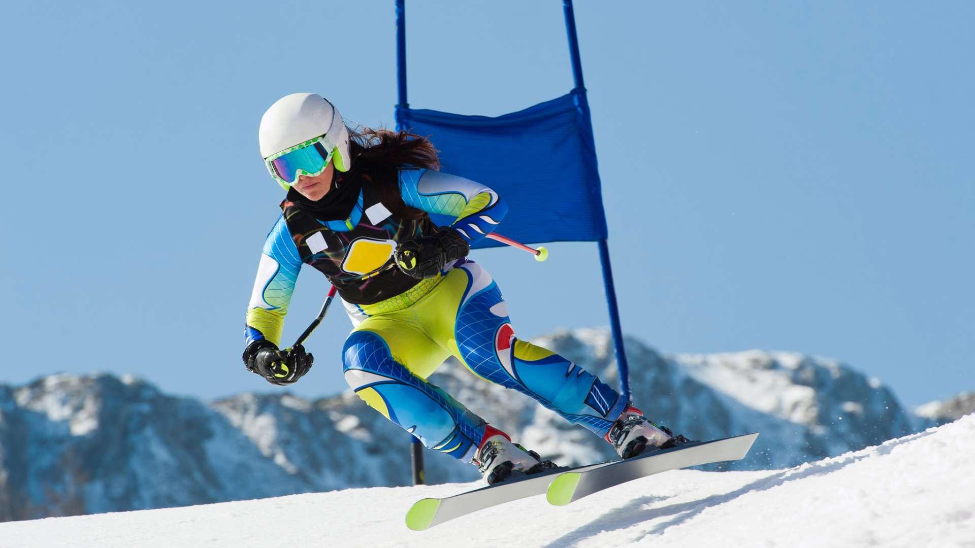 Ski Slalom Heute