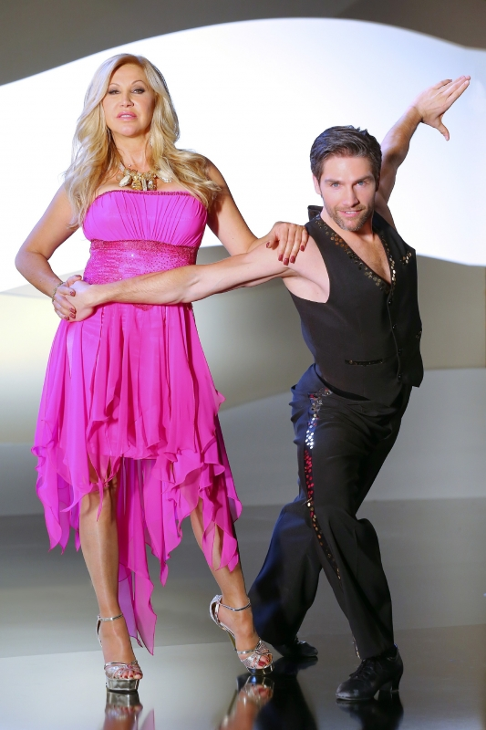 Tanzpartnerin flirten
