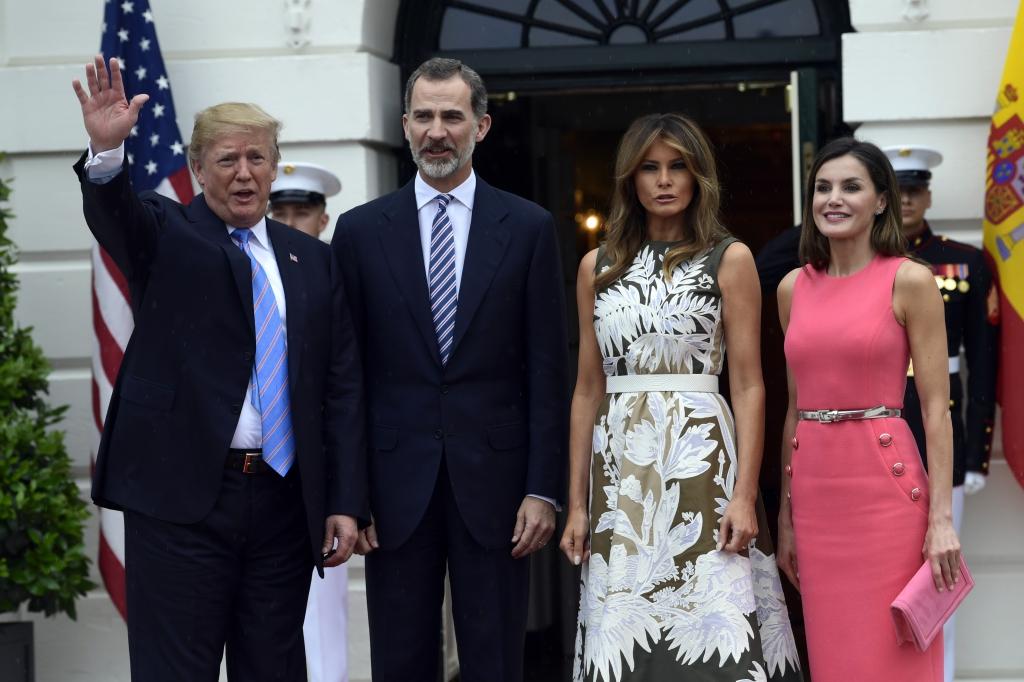 Königin Letizia Von Spanien Sauer Kein Bock Auf Melania Trump