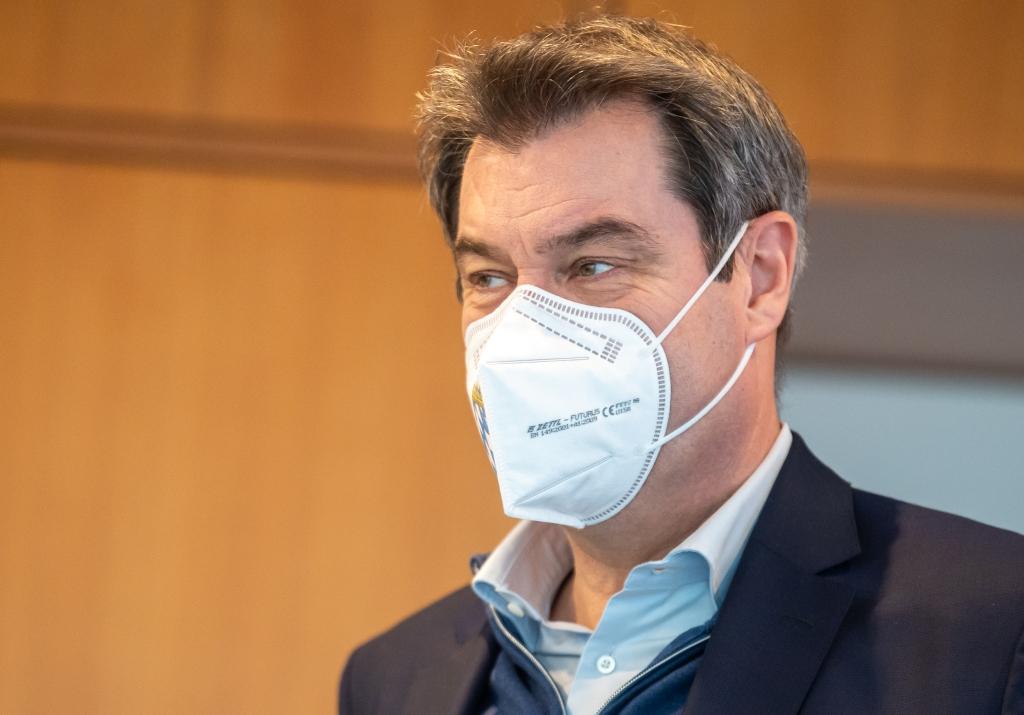 Coronavirus-News am Dienstag: Söder macht Tragen von FFP2 ...