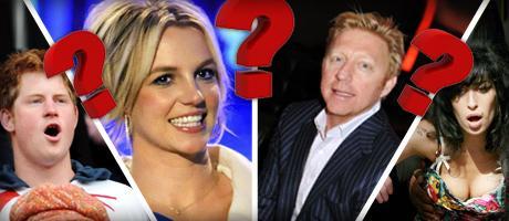 Ob Boris Becker oder Amy Winehouse, Prominente sind immer wieder für den einen oder anderen Eklat zu haben. Wie gut kennen Sie sich aus, wenn es um das skandalöse Verhalten von Stars geht? Testen Sie Ihr Wissen in unserem Quiz.