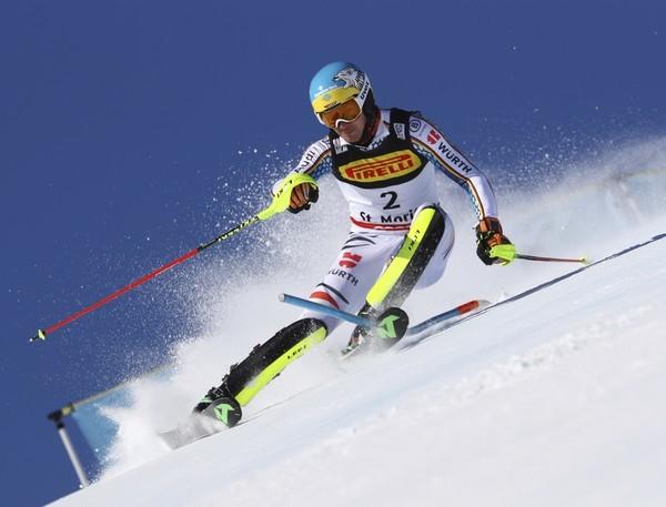 ski slalom herren heute