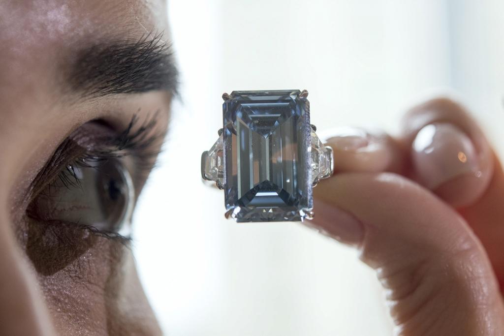 Oppenheimer Blue 51 3 Millionen Euro Das Ist Der Teuerste Diamant