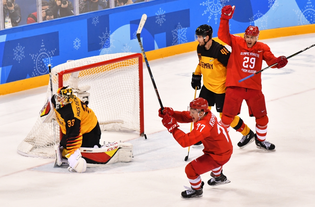 eishockey finale olympia