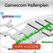 Gamescom Hallenplan