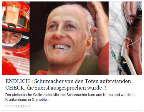 michael schumacher news aktuell schumi von den toten auferstanden das steckt dahinter. Black Bedroom Furniture Sets. Home Design Ideas