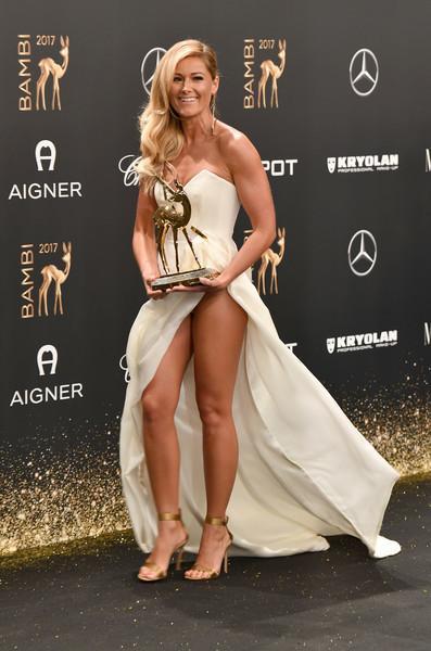 Helene Fischer Heiß Verschlitzt Noch Mal War Das Kleid Sexy Newsde