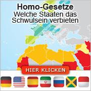 Homo-Gesetze:  Welche Staaten das Schwulsein verbieten
