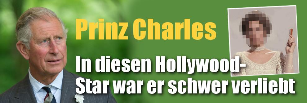 Prinz Charles: In diesen Hollywood-Star war er schwer verliebt (Foto)