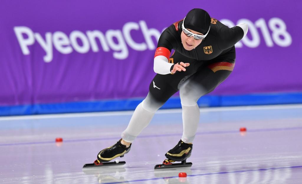Eisschnelllauf Ergebnisse Olympia 2018 Claudia Pechstein Beim