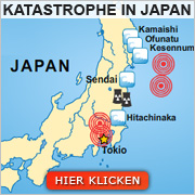 Katastrophe in Japan