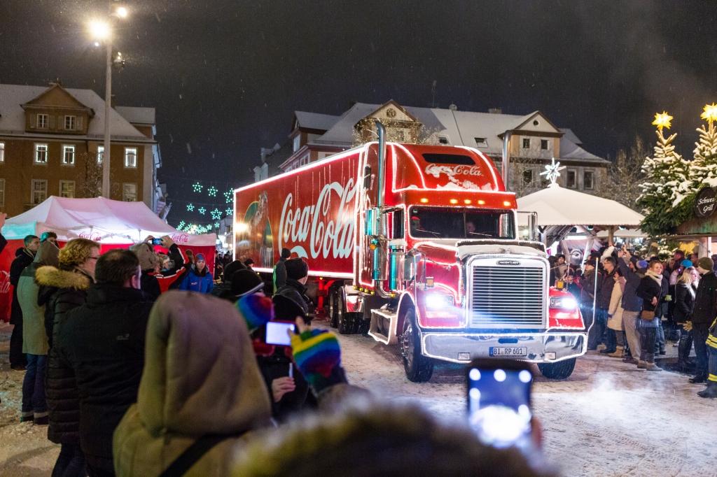 Coca Cola Trucks On Tour 2018 Heute Letzter Halt In Oberhausen Das