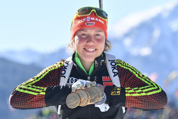 Auszeichnung für Laura Dahlmeier und Johannes Rydzek