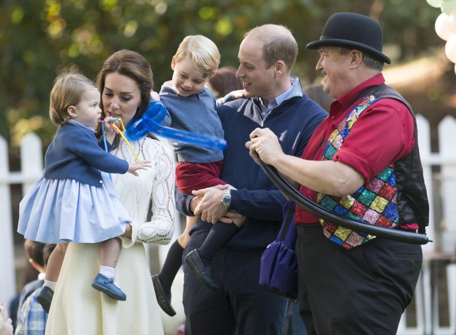 Kate Middleton und Prinz William: SO feiern Prinz George und ...