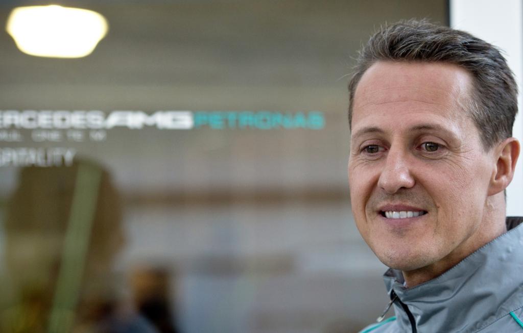 Schumacher Michael Zustand