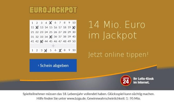 eurojackpot freitag uhrzeit