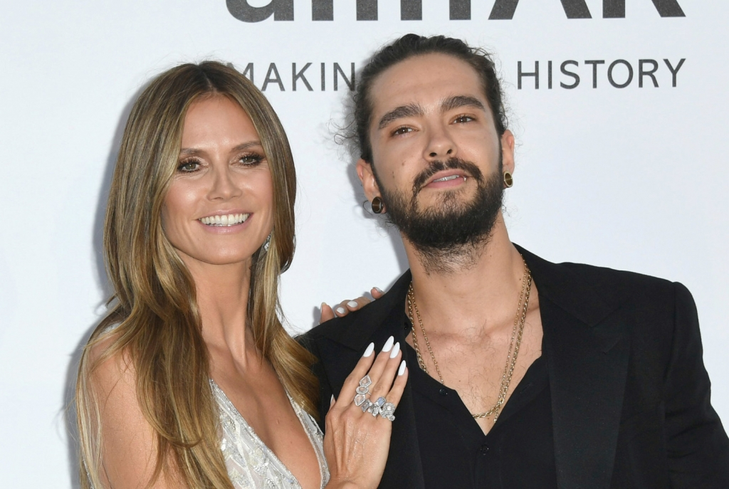 heidi klum und tom kaulitz hier knutschen heidi und tom hemmungslos im urlaub. Black Bedroom Furniture Sets. Home Design Ideas
